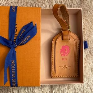 Louis Vuitton Luggage Tag Preloved